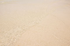 Welle auf Strand Stockfotografie