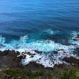 Welle an der Küste Lizenzfreie Stockbilder