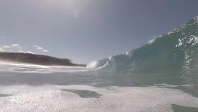 Welle in der Zeitlupe stock footage