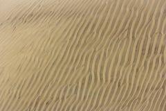 Welle des Sandes Lizenzfreies Stockbild