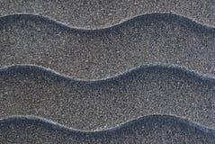 Welle gekopiertes Metall Lizenzfreie Stockfotografie