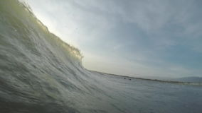 Welle im Meer stock footage