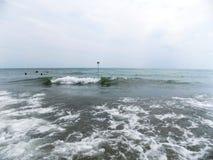 Welle in Meer Lizenzfreie Stockbilder
