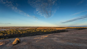 Welle stein- Hyden, West-Australien Stockfoto