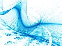 Welle und Gitter - extrahieren Sie digital erzeugtes Bild Lizenzfreie Stockfotografie