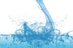 Welle und Luftblasen Lizenzfreies Stockfoto