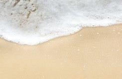 Welle und Sand Stockbild