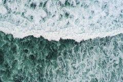 Welle von oben stockfotos