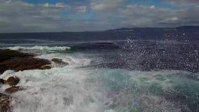 Wellen stock footage