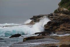 Wellen-Abbruch Stockbilder