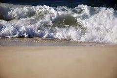 Wellen auf der Nordküste von Ägypten Stockfotos