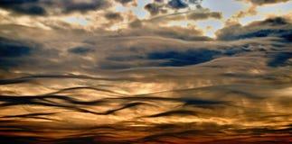 Wellen auf Himmel Lizenzfreies Stockbild