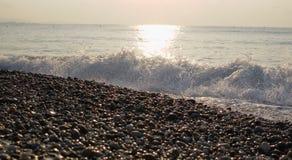 Wellen auf Strand Lizenzfreies Stockbild