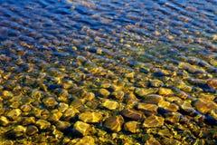 Wellen auf Wasser Stockfotos