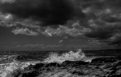 Wellen-Aufpassen stockbild