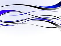 Wellen-Auslegung-Vektor Lizenzfreies Stockbild