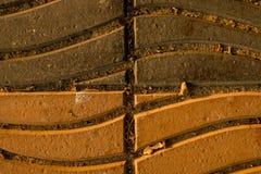 Wellen-Bodenfliese lizenzfreies stockbild
