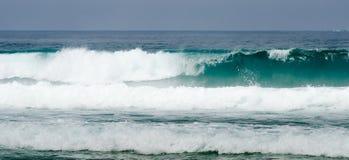 Wellen in der Küste Stockbilder