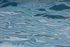 Wellen in der Lackbeschaffenheit Stockbild