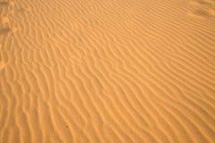 Wellen der Sanddüne Stockfotos