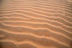 Wellen der Sanddüne Lizenzfreie Stockfotos