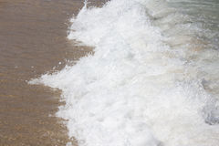 Wellen des Meeres Stockbild