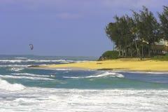 Wellen des Nordufers stockbild