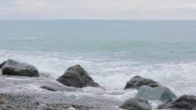 Wellen des Schwarzen Meers stock footage