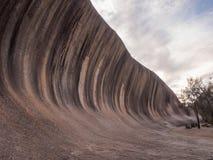 Wellen-Felsen, West-Australien bei Sonnenuntergang Lizenzfreies Stockbild