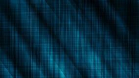 Wellen-Hintergrundkonzept des blauen Glanzes silk stock abbildung