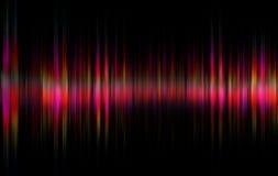 Wellen-Hintergrundkonzept des hellen Glanzes drastisches lizenzfreie abbildung