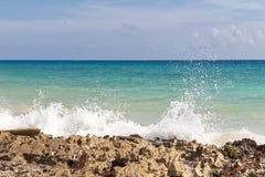 Karibisches Seeansicht Stockbild