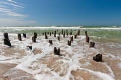 Wellen im Meer Lizenzfreies Stockfoto