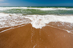 Wellen im Meer Stockfotografie