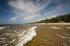 Wellen im Meer Stockbilder