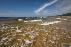 Wellen im Meer Stockfoto