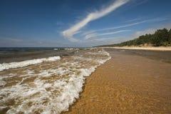 Wellen im Meer Stockbild