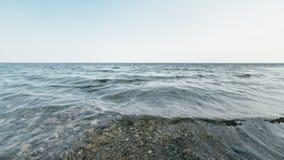 Wellen im Meer im Rausch stockfoto