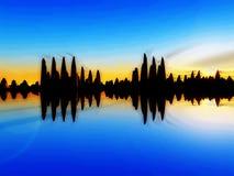 Wellen-Insel 15 lizenzfreies stockbild