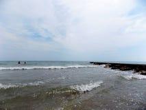 Wellen in Meer Lizenzfreies Stockfoto
