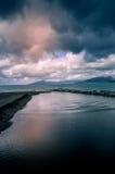 Wellen in Meer, stürmisches Meer lizenzfreie stockfotografie