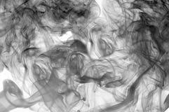 Wellen- und Rauchhintergrund Stockfoto