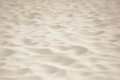 Wellen- und Sandgrenze Lizenzfreies Stockbild