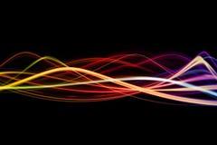 Wellen von Farben Lizenzfreie Stockfotos