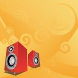 Wellen von Musik Lizenzfreie Stockfotos