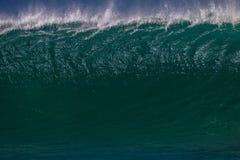 Wellen-Wand glänzt Beschaffenheits-volles Feld Stockfoto