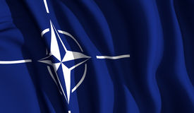 Wellenartig bewegendes NATO Lizenzfreies Stockbild