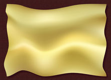 Wellenartig bewegendes Tuch Lizenzfreies Stockbild