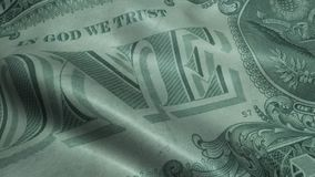 Wellenartig bewegt hundert Dollar Bill United States Banknotes Obverse