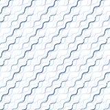 Wellenartig bewegte Linie Muster Stockfotografie